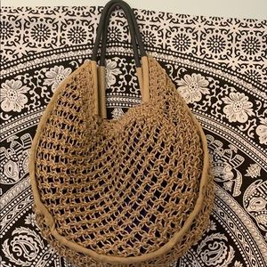 Urban outfitters jute bag ☀️